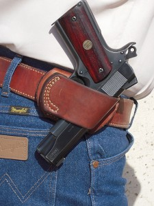 Yaqui Slide is one of the best holsters Sheriff Jim Wilson has ever used.