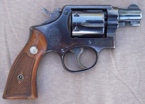 .38 Special Military and Police Model Smith & Wesson With a 2-inch Barrel