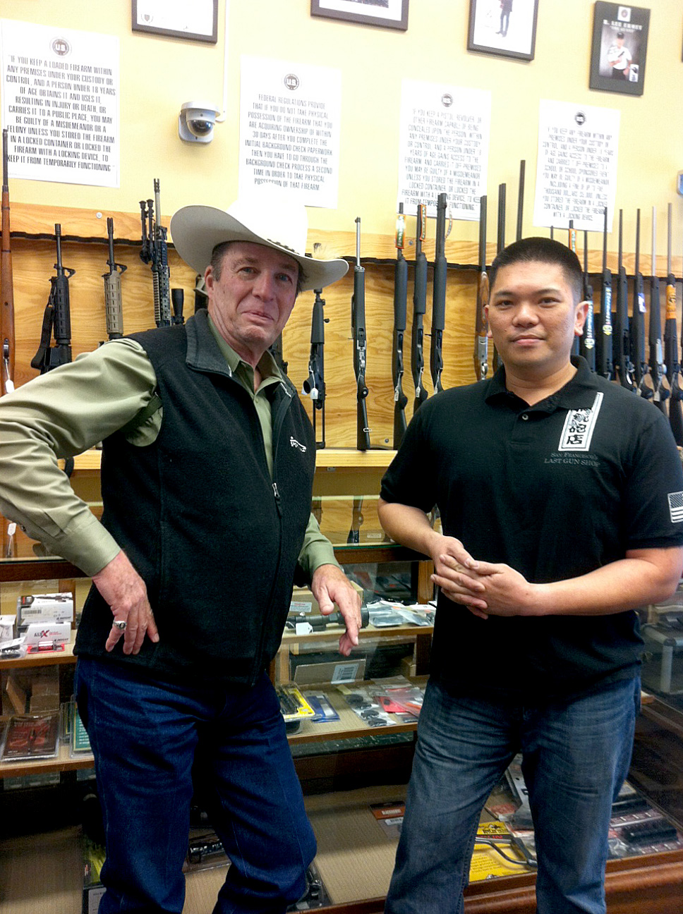 San Francisco's Last Gun Shop Sheriff Jim Wilson