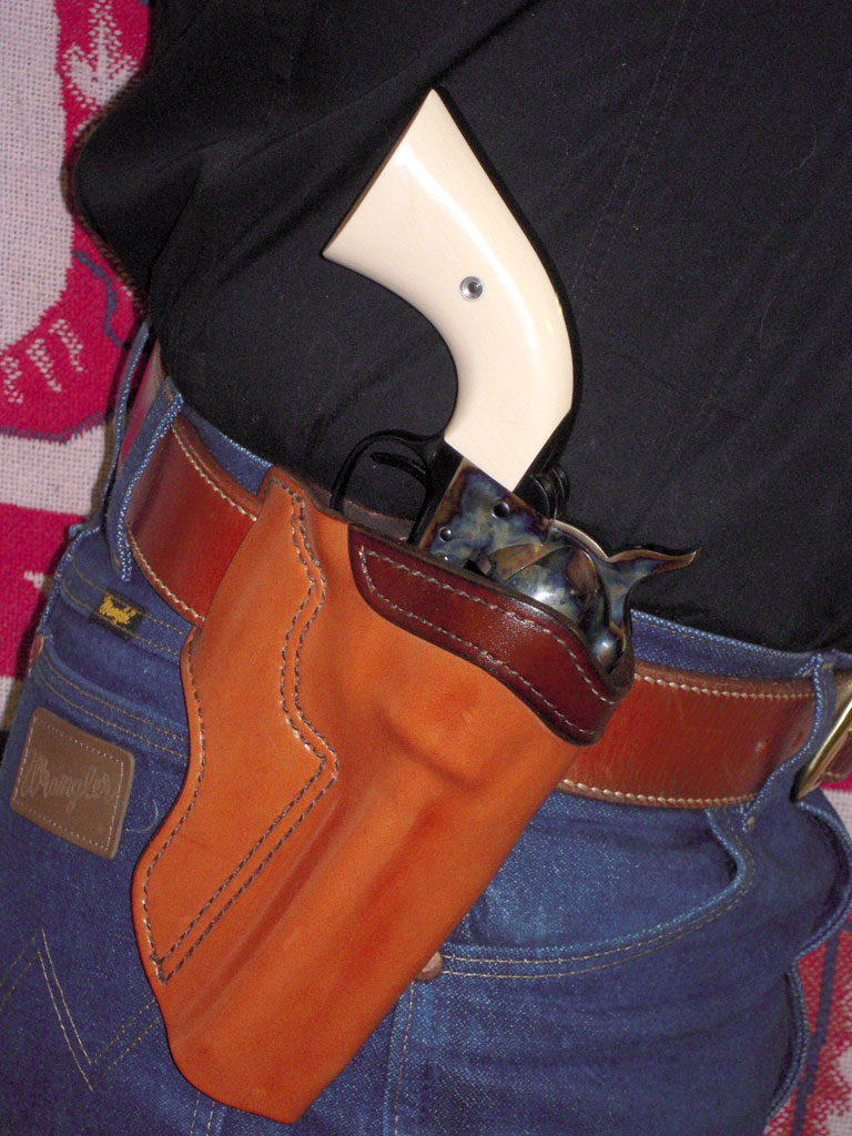 The Liberty Cross Holster from Crossbreed Holsters Sheriff Jim Wilson