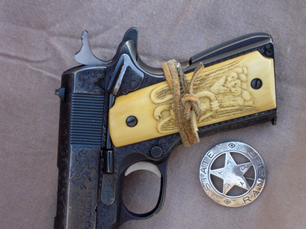 Charlie Miller 1911 Tied Grip Safety Sheriff Jim Wilson