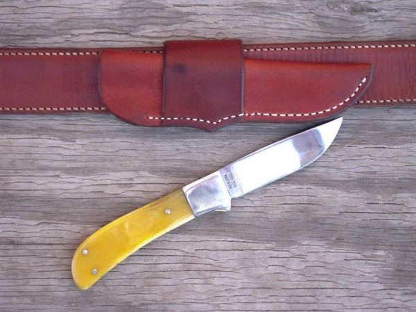 The #5101 Hunter from Moore Maker Knives is Just About Right Sheriff Jim Wilson