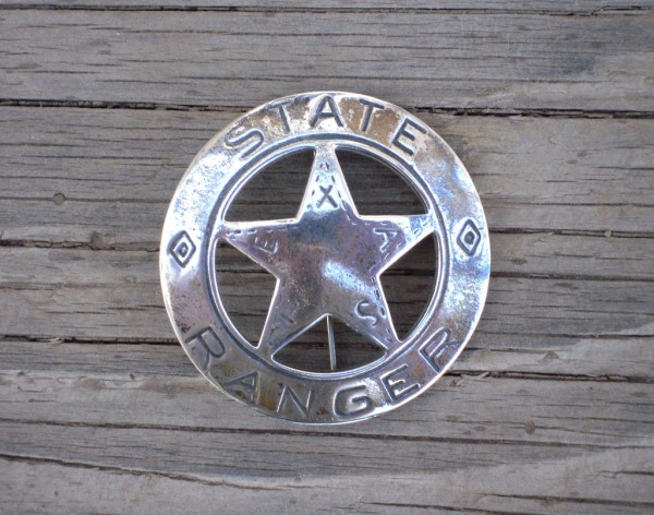 Old Lucky - Texas Ranger Badge - Sheriff Jim Wilson