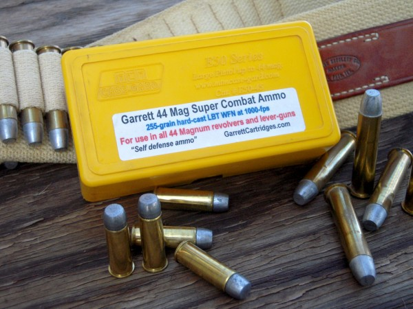 Garrett Cartridges 44 Mag Super Combat Ammo Sheriff Jim Wilson