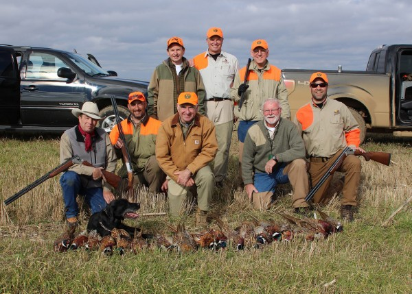 Bustin' Pheasants with the Ruger Red Label Shotgun Sheriff Jim Wilson