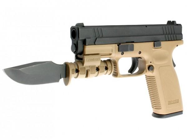 Semi-Auto Hand Gun with Bayonet Attached Sheriff Jim Wilson