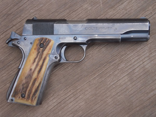 Sheriff Jim Wilson's 1932 Colt Government Model in .38 Super