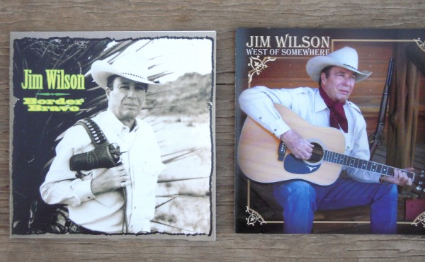 Border Bravo is Jim Wilson's first album. West of Somewhere was his long-awaited follow-up.