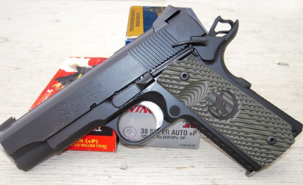 A Nighthawk Customs 1911 in .38 Super Sheriff Jim Wilson