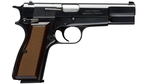 Defensive Handgun Choices: The Browning Hi-Power 9mm Pistol